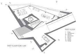 modern architecture floor plans cascading lava flows inspiring contemporary architecture hebil