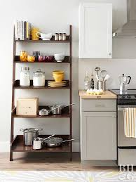ideas for kitchen shelves affordable kitchen storage ideas