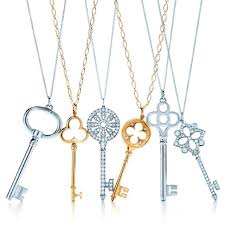 key heart necklace tiffany images Tiffany key pendant necklace reish necklace jpg