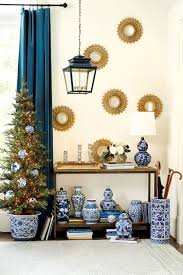 we u0027re into a blue and white christmas how to decorate