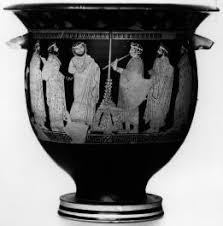 Classical Vases Ancient Greek Theatre Greek Vase Painting