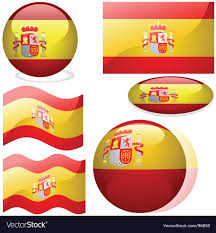 Picture Of Spain Flag Spain Flags Royalty Free Vector Image Vectorstock