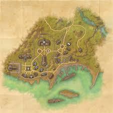 the rift ce treasure map tes map of auridon