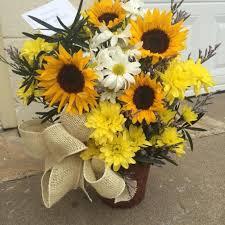 flower delivery express sunflower in blackwell ok bev s flower heaven