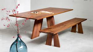 fresh design contemporary wood dining table skillful wood dining