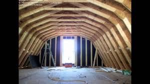 Roof Framing Pictures by Building A Home Gambrel Roof Youtube