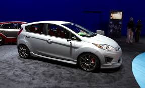 sema 2011 ford announces a trio of custom fiesta hatchbacks car