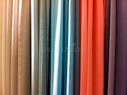 Bright Colored Curtains Bright Colored Curtains Stock Image Image Of Curtain 43512067