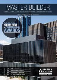 2015 master builders western australia magazine september