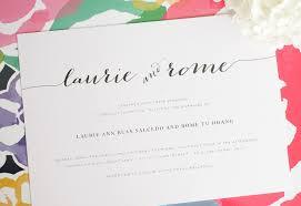 big names page 22 wedding invitations