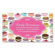 Personalized Business Cards French Macarons Personalized Business Card Business Cards And