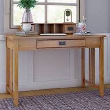 oak writing bureau furniture solid wood office desk vintage bureau furniture home writing table