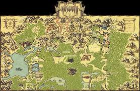 Bravely Default World Map by What Is Your Favourite Fantasy World Setting In Video Games Neogaf