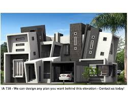 rsi duplex architecture modern facade contemporary house design
