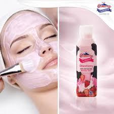 Yogurt Untuk Masker Wajah cimory oleskan yogurt merata ke seluruh bagian wajah