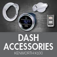 Kenworth K100 Interior Kenworth K100 Cabover Interior Accessories 4 State Trucks