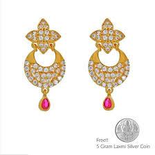png gold earrings sri jagdamba pearls princess 22kt gold earrings sone ki baliyan