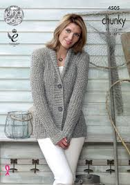 s sweater patterns knitted cardigan pattern authentic chunky marl shade king