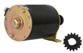 new starter motor fits john deere mower riding s82 s92 sx85 with