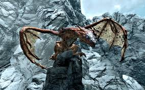 dragons skyrim elder scrolls fandom powered wikia