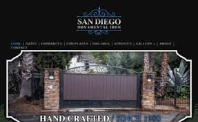 sandiegoornamentaliron website san diego ornamental iron