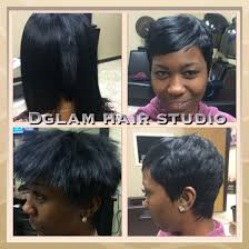 short hair quickweave razor cut no 27 piece cut from scratch