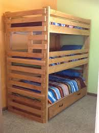 Bunk Bed With Trundle Triple Bunk Bed With Trundle Google Search Decor Pinterest