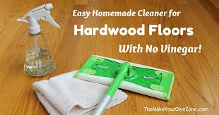 my no vinegar cleaner for hardwood floors the your own zone