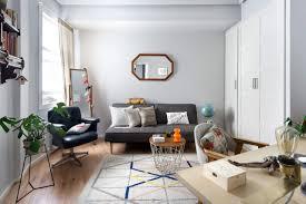 home interior mirror inside the bohemian home of an interior designer nonagon style