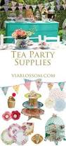 tea party decoration tea party birthday or by madewithlovebyani