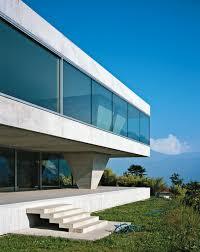 a concrete double villa in switzerland dwell