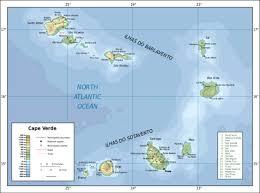 africa map islands cape verde islands map cape verde mappery