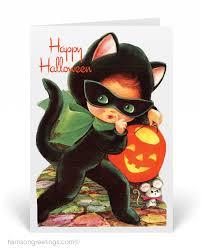 vintage 1950s halloween greeting cards 12719 custom