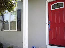 top red front door with red front door painted in benjamin moore
