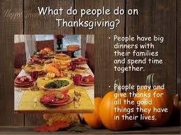 thanksgiving history 5 6 graders esl