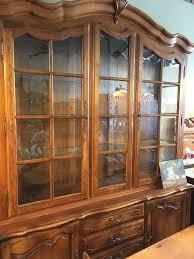Ethan Allen Corner Cabinet by Find Ethan At Estate Sales