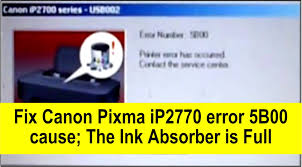 download resetter canon mp287 for xp how to fix canon pixma ip2770 ip2772 error 5b00 youtube