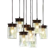 Pendant Lights For Kitchen Island Allen Roth 8 25 In W Oil Rubbed Bronze Pendant Light With Clear