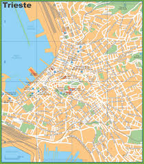 Turin Italy Map by Trieste Maps Italy Maps Of Trieste