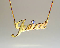 Jewelry With Names Nameplate Necklace