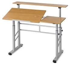 Drafting Table L Safco Split Level Drafting Table Blick Materials