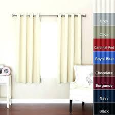 floor length curtains short window bedroom ideas wonderful extra