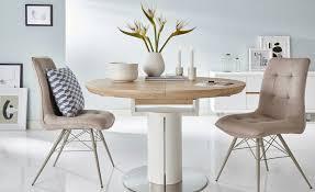 Esszimmertisch Sale Esstisch Rund Ausziehbar Weiß Holzfarben Möbel Höffner