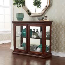 Define Magnificent Curio Cabinet Console Curio Cabinet Wonderful Image Ideas