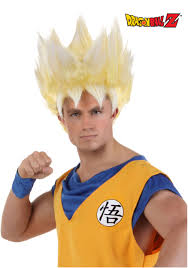 wigs for halloween super saiyan goku wig walmart com