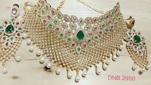 indian necklace set images South indian necklace set dnb01 dnb fashion jewellery jpeg
