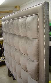 Padded Headboard King Fabric Headboards King Cheap Diy For Size Beds Sigong Info