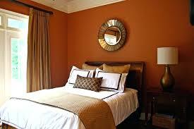 Orange Bedroom Walls Amazing Wall Decor Orange Wall Color Blue