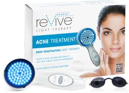 deep penetrating light therapy device revive blue light therapy for acne jellenproducts com