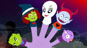 Cartoon Halloween Monsters Finger Family Monster Halloween Song Finger Family Youtube